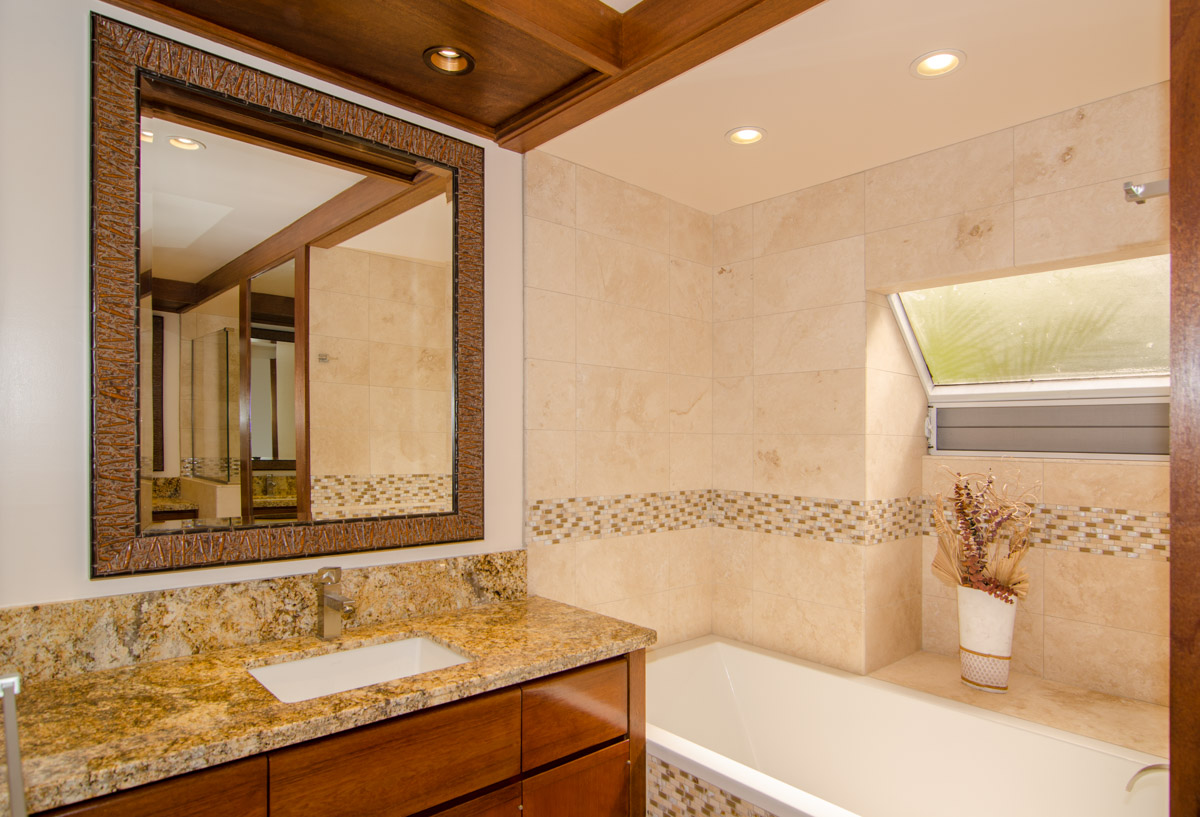 Elite Design Hawaii Mauna Lani Terrace Bathroom Remodel
