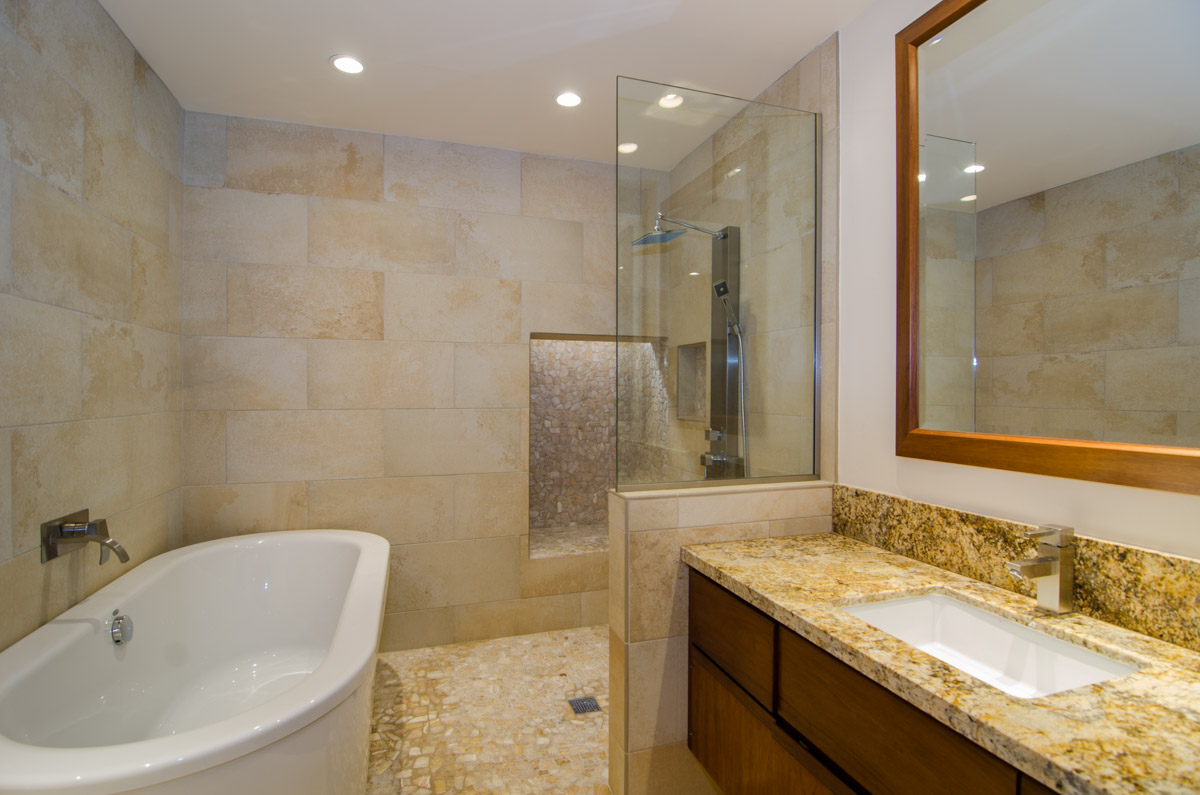 Mauna lani terrace bathroom remodel elite design hawaii for Complete bathroom remodel